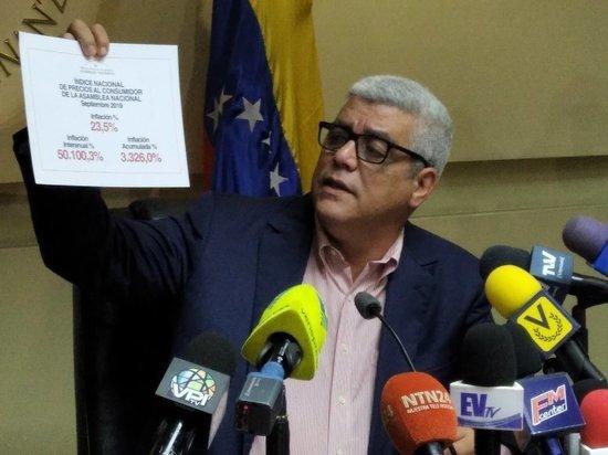 Инфляция в Венесуэле в годовом выражении составила 50100%
