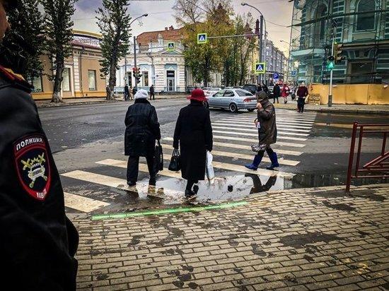 Новый светофор со светодиодной полосой появился в Иркутске