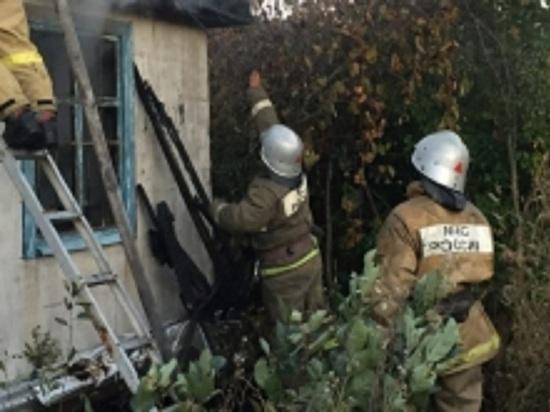 Из-за нарушений противопожарной безопасности в Иванове сгорел дом
