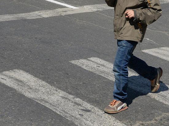 В Абакане сбили пятиклассника на пешеходном переходе