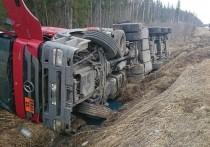 Бензовоз перевернулся на трассе «Амур» в Забайкалье