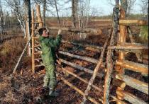 На Ямале строят изгороди в двух оленеводческих хозяйствах
