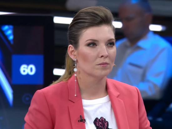 Скабеева ответила Зеленскому, посчитавшему ее