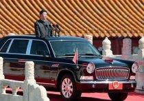 Пока весь мир ожидал подробностей о лимузине Владимира Путина и сравнивал Aurus с британской классикой, КНР представило свой собственный «первый автомобиль»