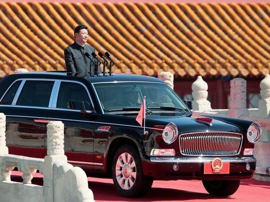 Новый автомобиль Си Цзиньпина напомнил Aurus Путина