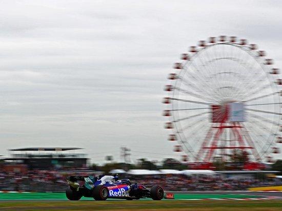 Тайфун смоет пилотов на Гран-при Японии