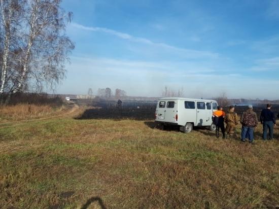 В Новосибирской области староста спасла от пожара поселок Клубничный