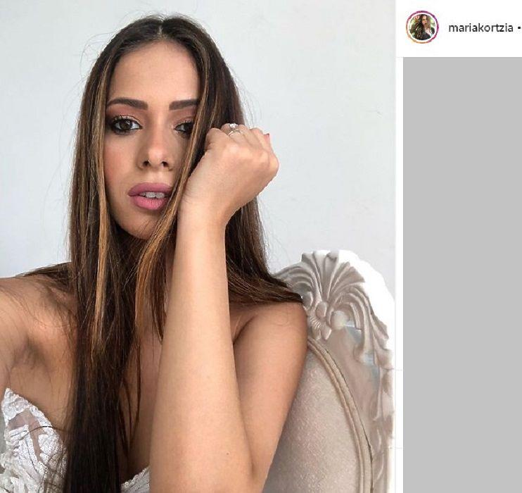 Невеста киприота: лучшие фото Марии Кортция, чей жених хочет огорчить сборную России