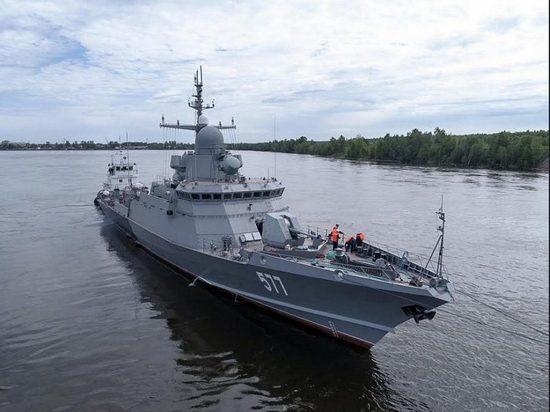 Ракетный корабль с «Калибрами» заступил на службу в Калининградской области