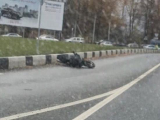 В Нижегородской области мотоциклист разбился в ходе следственного эксперимента