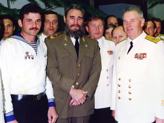 8 октября исполнилось 90 лет контр-адмиралу Сергею Рыбаку
