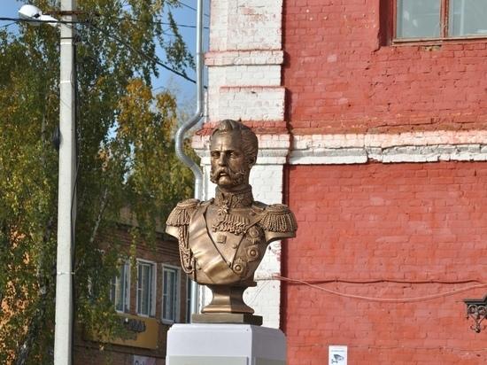 В Веневе открыли монумент Александру II