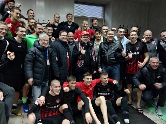 «Текстильщик» провел первый матч в Иваново