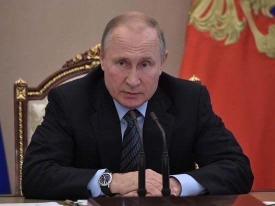 Путин сообщил о работе над совершенно новым оружием в России