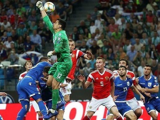 Кипр – Россия: как россияне забили пять мячей и вышли на Евро-2020