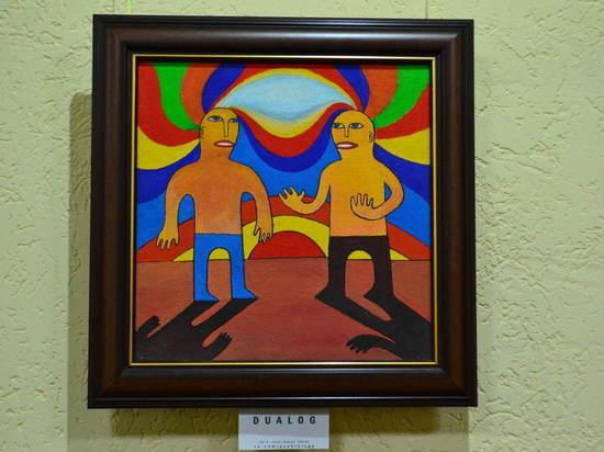 Квадрология Дмитрия Шенгура: открылась выставка керченского художника
