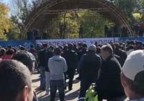 В Калмыкии прошел массовый протест против назначенца из ДНР