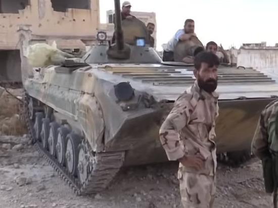 Сирийские подразделения помогут курдам отбивать атаки турецкой армии