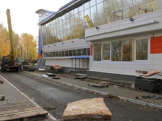 В Северодвинске завершается строительство нового спортивного объекта