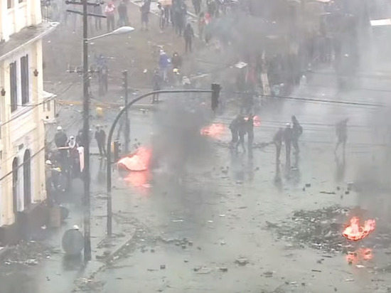Власти Эквадора стали судить протестующих по статье