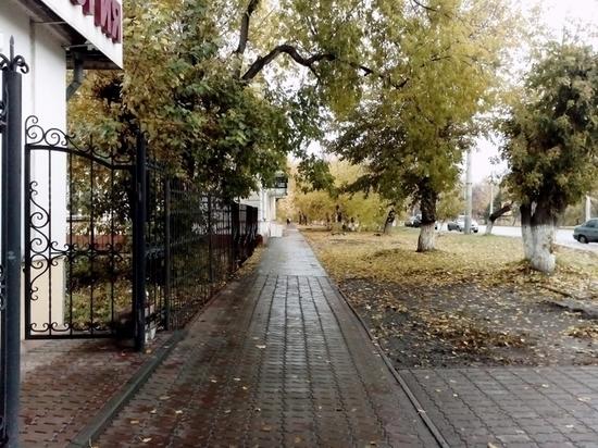 В Омске зима уже близко