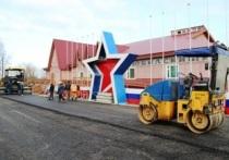 В Тарко-Сале ко Дню Победы отремонтировали площадь у ДК «Юбилейный»