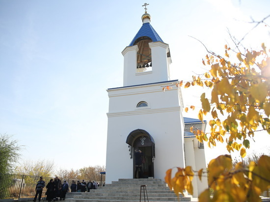 Новый храм открылся в поселке Покровка Волгоградской области