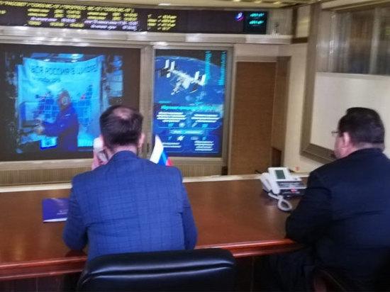 Космонавт Скворцов отключил аналоговое телевидение с орбиты