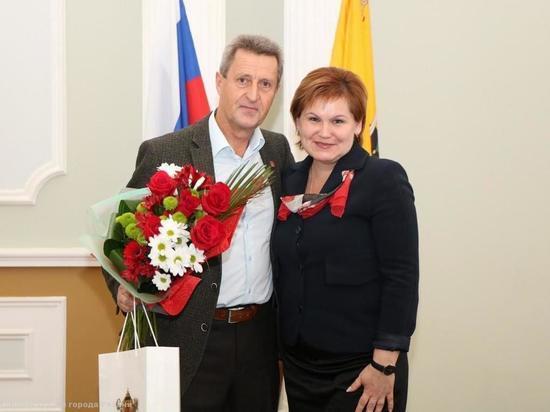 Елена Сорокина поздравила Почетного гражданина Рязани с днем рождения