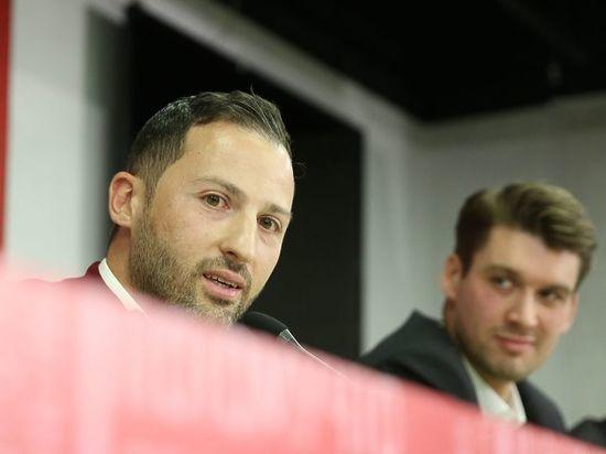 Немецкий специалист ответил на вопросы журналистов после подписания контракта со «Спартаком»