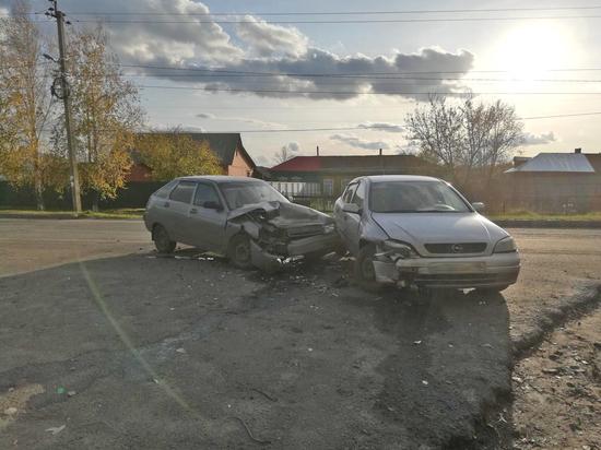 В Тамбовской области в аварии пострадал двухлетний малыш