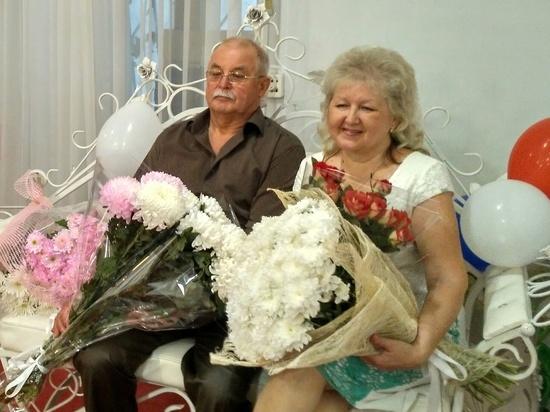 В Ялте расписались «рубиновые» юбиляры семейной жизни