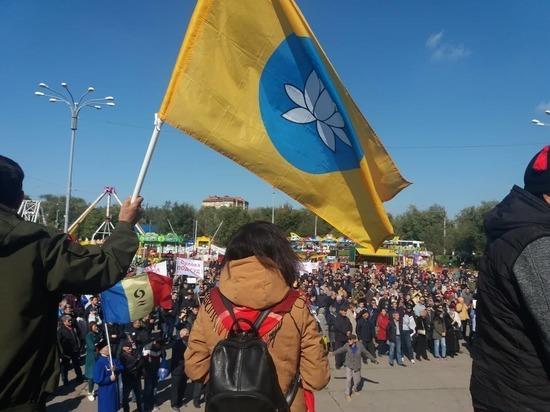 Столица Калмыкии жёстко потребовала отставки и.о. главы