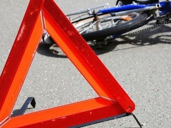 В Хакасии на трассе грузовик сбил велосипедиста