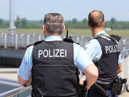 После перестрелки в Германии арестован вооруженный человек