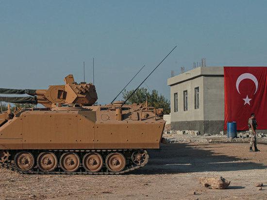 Обнародованы потери в ходе турецкой операции в Сирии