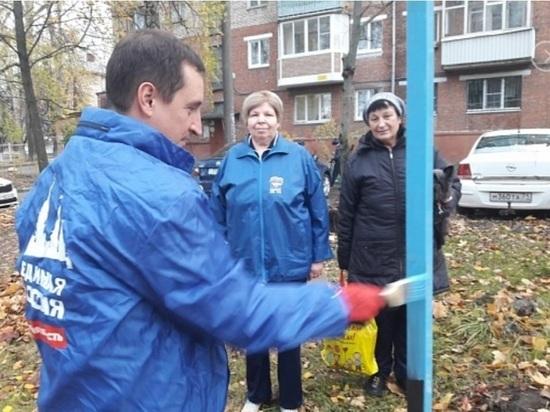 Политика малых дел: тульский депутат отчитался о натянутых веревках для белья