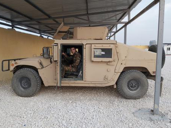 Армия Асада получила американскую «трофейную» бронетехнику