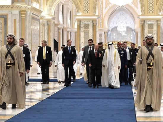 Кадыров в Эмиратах почти затмил Путина