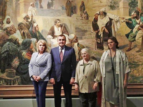 В Третьяковской галерее открылась выставка к 175-летию Василия Поленова