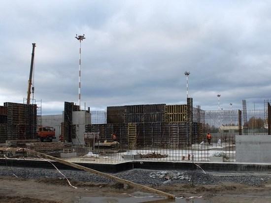 Строительство нового аэровокзала в Петрозаводске идет согласно срокам