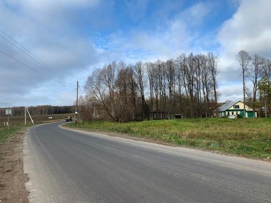 """В Богородском районе по нацпроекту """"БКАД"""" сдали восемь участков дорог"""