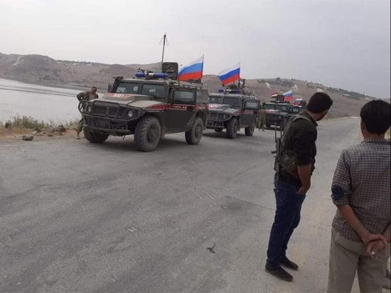 Российская военная полиция готовится войти в Кобани на границе с Турцией