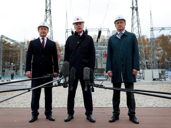 Новак, Собянин и Ливинский открыли новую подстанцию «Россетей» в Новой Москве