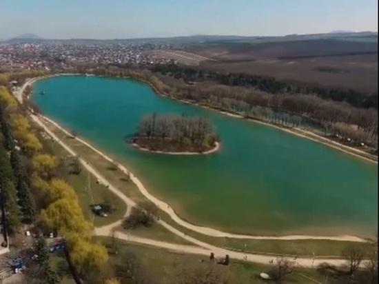 Глава Ставрополья «показал» чудеса на ессентукском озере