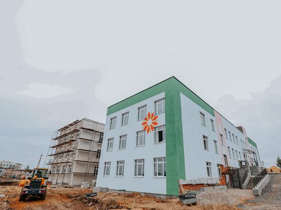 Новый детский сад в Заволжье готов на 60%