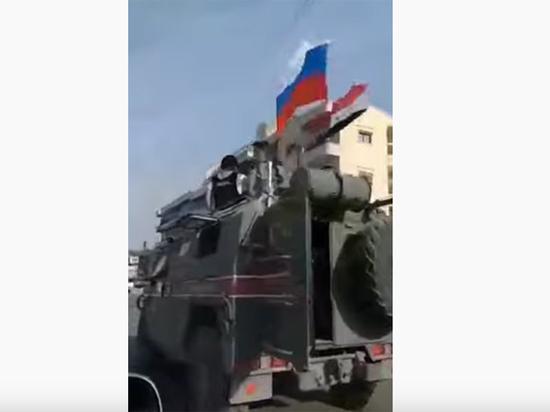 Российская военная полиция вышла к границе Сирии и Турции