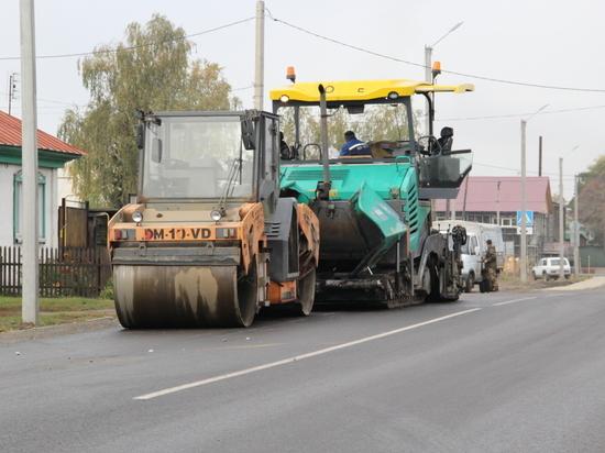 Первый этап реализации в городе Бийске программы «Безопасные и качественные дороги»