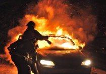 В Тверской области мужчина обиделся на знакомого и поджег его машину