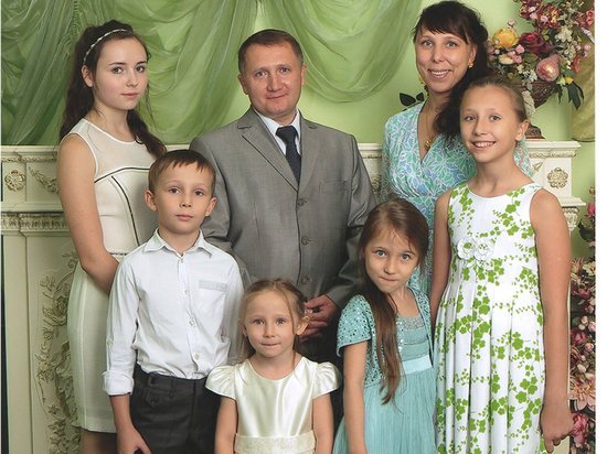 Ивановскую семью наградили орденом